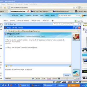 Abrir Messenger Hotmail