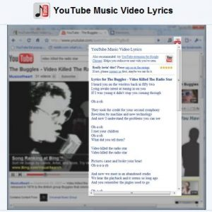 youtue video lyrics