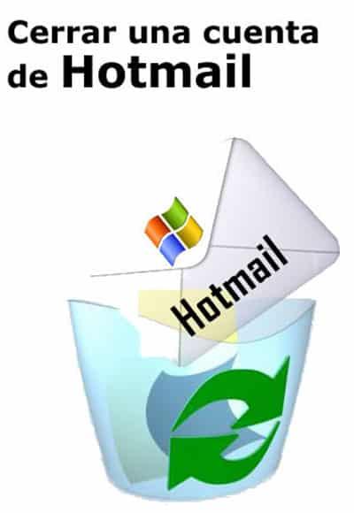 Cerrar cuenta hotmail