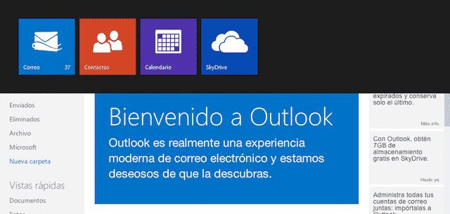 Por que vincular redes sociales con Outlook de Correo Hotmail