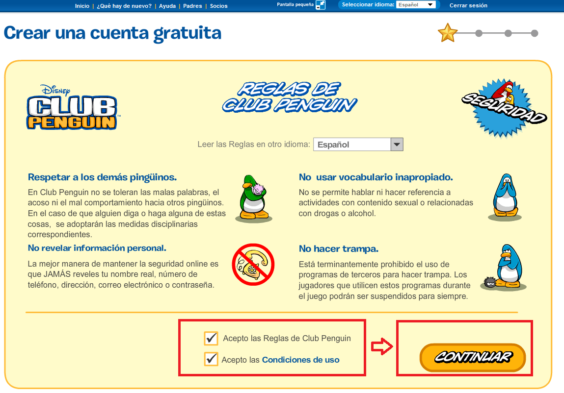 club penguin como registrarse 3