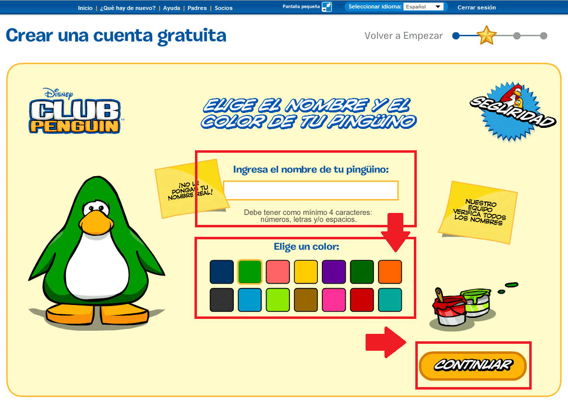 club penguin como registrarse 4